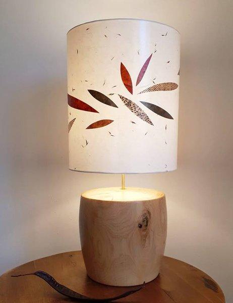 Lampe sur pied cyprès